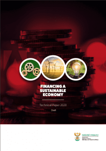 Technical Paper Financing a Sustainable Economy